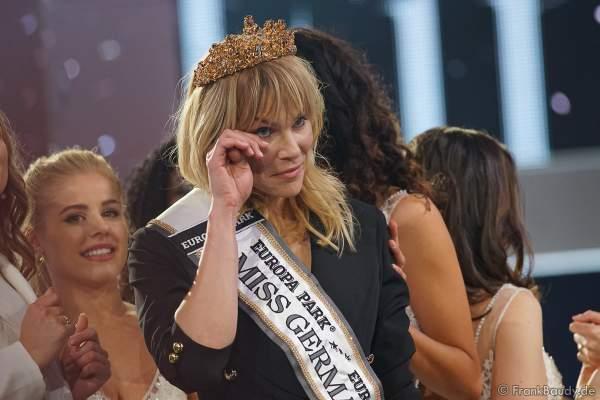 Leonie von Hase gewinnt den Titel bei Miss Germany 2020 am 15.02.2020 in der Europa-Park Arena Rust