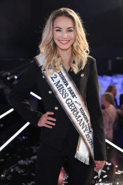 Vize-Miss Germany 2020 - Lara Rúnarsson (Miss Bayern) beim Miss Germany 2020 Finale in der Europa-Park Arena am 15.02.2020
