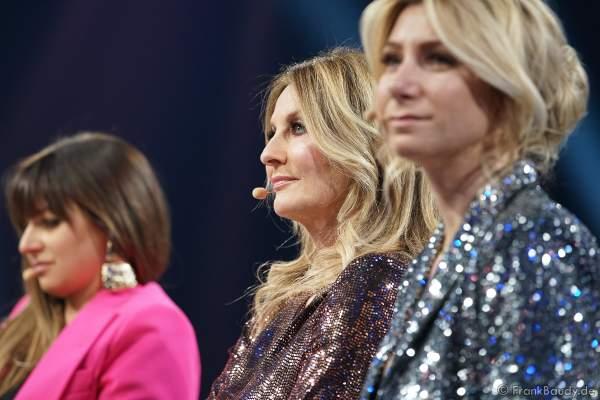Jurymitglied: Frauke Ludowig bei der Miss Germany 2020 Wahl am 15.02.2020 in der Europa-Park Arena Rust