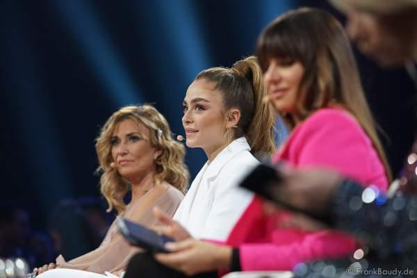 Jurymitglied: Sofia Tsakiridou bei der Miss Germany 2020 Wahl am 15.02.2020 in der Europa-Park Arena Rust
