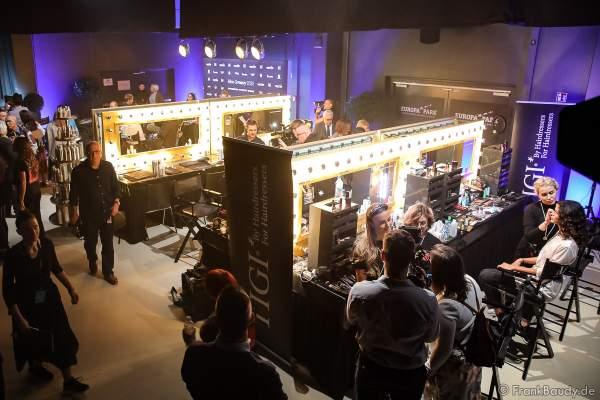 Backstage am Nachmittag bei den Vorbereitungen für das Miss Germany 2020 Finale in der Europa-Park Arena am 15.02.2020