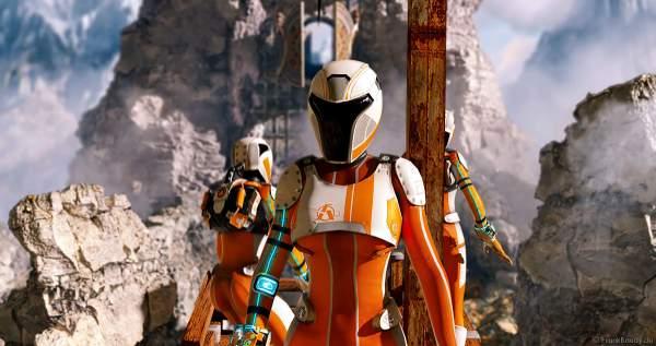 """In diesen virtuellen Avatars bewegen sich die Spieler durch """"Mission: Rulantica"""" des VR-Erlebnis YULLBE im Europa-Park"""