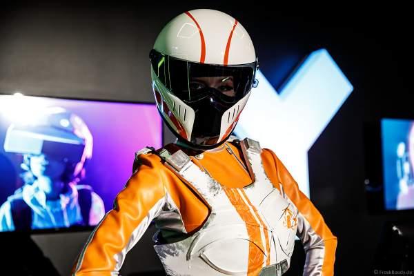 """Reale Darstellung eines Anzugs der Rekruten von """"Mission: Rulantica"""" beim VR-Erlebnis YULLBE im Europa-Park"""
