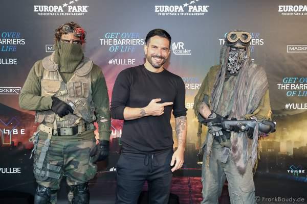 "Marc Eric Terenzi bei der Eröffnung der der neuen YULLBE Horror Experience ""Traumatica"" im Europa-Park am 2. Oktober 2020"