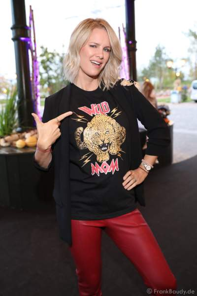 "Monica Jasminka Meier-Ivancan bei der Eröffnung der der neuen YULLBE Horror Experience ""Traumatica"" im Europa-Park am 2. Oktober 2020"