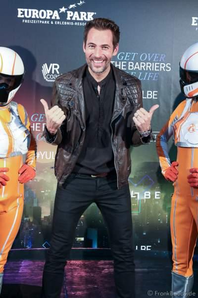 """Alexander Mazza bei der Eröffnung der der neuen YULLBE Horror Experience """"Traumatica"""" im Europa-Park am 2. Oktober 2020"""