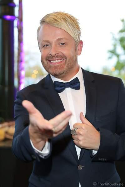 """Ross Antony bei der Eröffnung der der neuen YULLBE Horror Experience """"Traumatica"""" im Europa-Park am 2. Oktober 2020"""