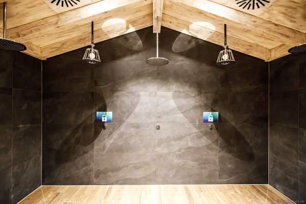 Für die Abkühlung nach der Sauna in HYGGEDAL in der Wasserwelt Rulantica