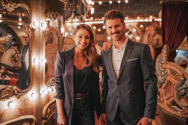 Die Moderatoren der Miss Germany Wahl 2021: Jana und Thore Schölermann
