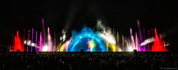 Open Air Festival Vents d'Est 2021 bei Art et Lumière