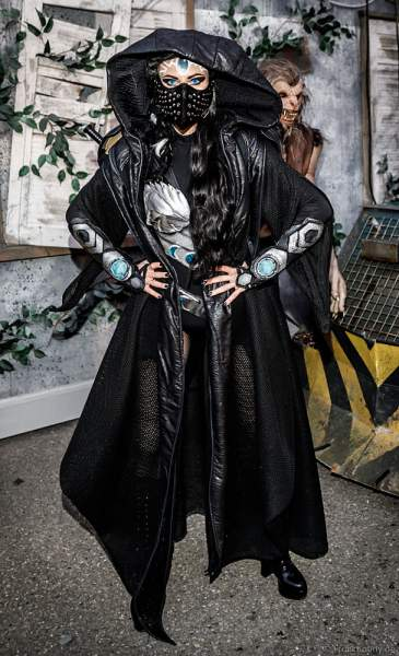 Myra Moon Mistress - Horror Nights - TRAUMATICA 2021 bei Halloween im Europa-Park in Rust