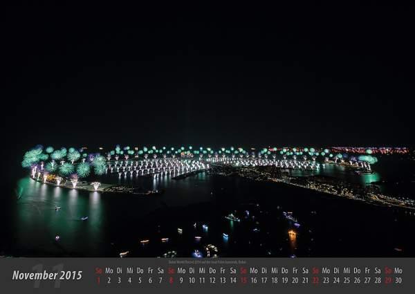 Feuerwerk-Fotokalender 2015