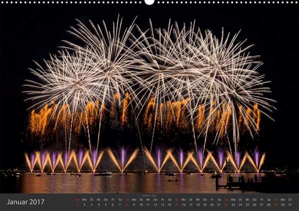 Feuerwerk-Fotokalender 2017 Januar 02