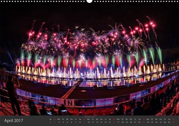 Feuerwerk-Fotokalender 2017 April 05