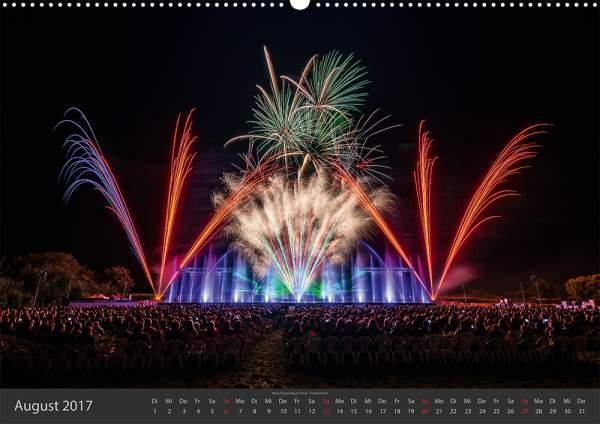 Feuerwerk-Fotokalender 2017 August 09