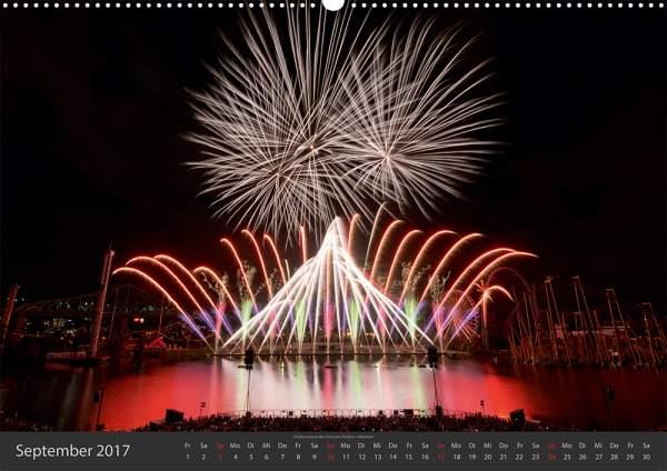 Feuerwerk-Fotokalender 2017 September 10
