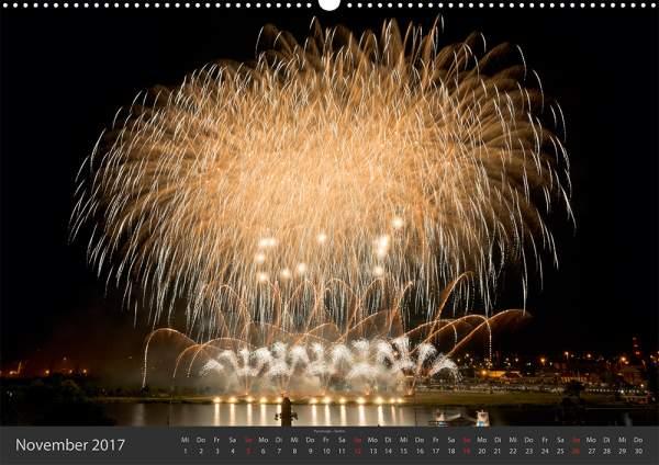Feuerwerk-Fotokalender 2017 November 12