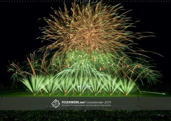 Feuerwerk Fotokalender 2018 - Cover