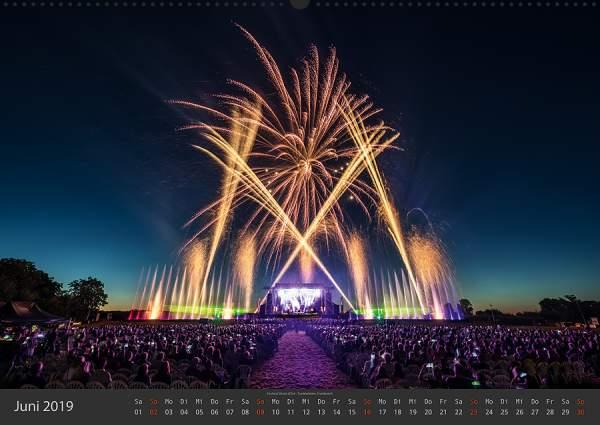 Feuerwerk Fotokalender 2018 - Juni