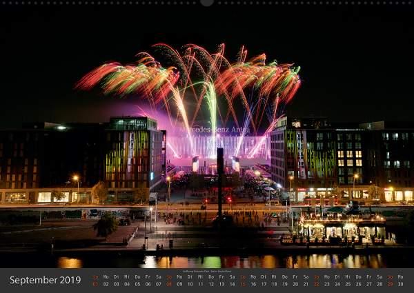 Feuerwerk Fotokalender 2018 - September