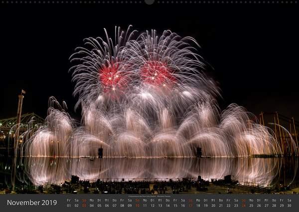 Feuerwerk Fotokalender 2018 - November
