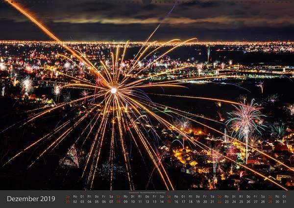 Feuerwerk Fotokalender 2018 - Dezember