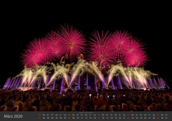 Feuerwerk Fotokalender 2020 - Maerz v02