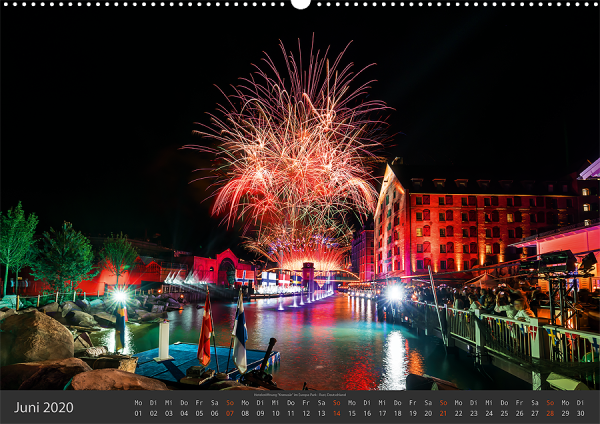 Feuerwerk Fotokalender 2020 - Juni