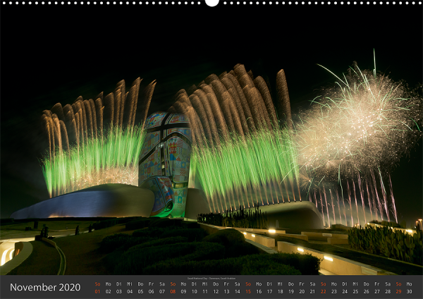 Feuerwerk Fotokalender 2020 - November
