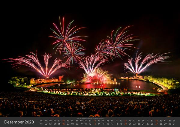 Feuerwerk Fotokalender 2020 - Dezember