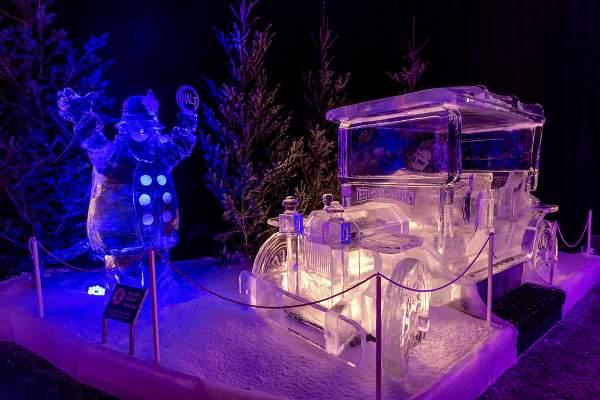 """MAGIC ICE: """"45 Jahre Europa-Park - Meilensteine in Eis"""""""